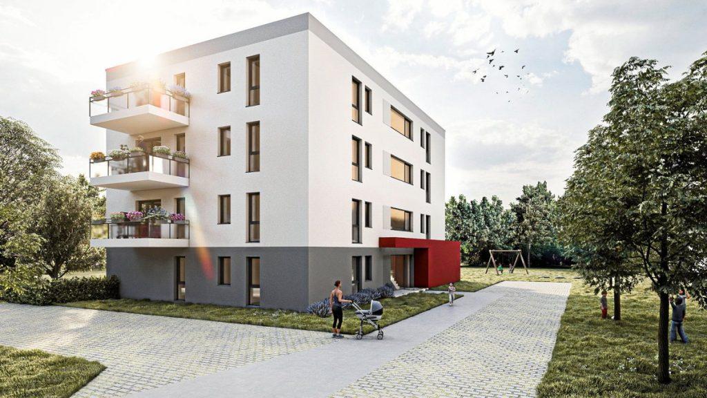 Animation der Planung der Wohngemeinschaft GlückAuf; Bochum